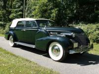 1940 Cadillac Fleetwood Series 75 Convertible Sedan