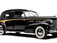1940 Cadillac Series 75 Brunn Towncar Chassis Number: