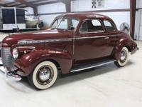 1941 CHEVY COUPE 216 6 CYLINDER 3 SPEED ON THE TREE,
