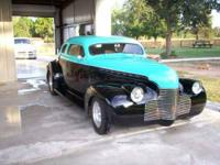 1940 Chevrolet Coupe Street Rod in Excellent Condition