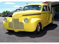 1940 Chevy Street Rod Sedan. Packed with fun at the
