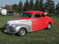 1940 Chevrolet Hot Rod Antique Up for sale is a 1940