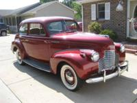 I bought this Chevrolet KH Master Deluxe 2 Door Town