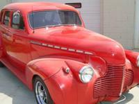 1940 Chevrolet Master Deluxe 4DR Custom Street Rod