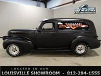 This 1940 Chevrolet Sedan Delivery is situated in our
