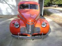1940 Chevrolet Special Deluxe in Excellent Condition