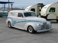 1940 Chevy 2 Door Delivery Custom Delivery Panel Wagon,