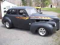 Very cool old school Chevy Street Rod. Rock solid all