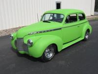 1940 Chevy 2 Door Sedan - 350/350 Turbo - Nova rear -