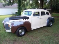 1940 Desoto, needs minor body work,good drive,tagged