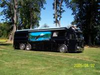 1940 Eagle Brand Conversion Bus Eagles nest is a 40 ft