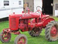 I have a 1940 Farmall-A 4cy Hand Crank start. Run good