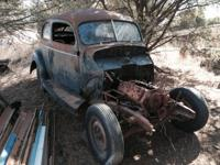 All or components 1940 ford sedan with flathead motor,