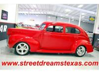 What an awesome Forty Street Rod! All steel body with