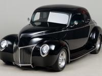 1940 Ford Coupe VIN: 85611412 Highly regarded hot rod