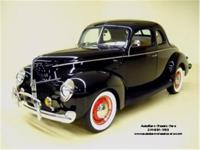 Stk. 1518 1940 Ford Deluxe Coupe The '40 Fords are the