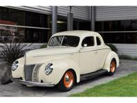 1940 Ford Deluxe Coupe Hot Rod VIN: 185674952 This is
