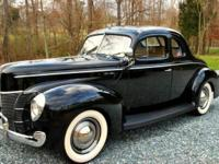 1940 Ford Deluxe Business Coupe for sale (NC) -
