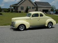 Description: 1940 Ford Deluxe Coupe All Steel Street