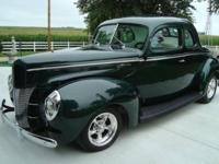 1940 Ford 2DR Coupe ..Restored ..425 Miles ..350 Small