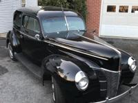 1940 ford 2 door sedan  Vehicle has been stored inside