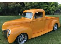Year : 1940 Make : Ford Model : Pickup Exterior Color :