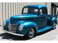 1940 Ford pickup. Complete body-off show quality