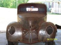 40 FORD PICKUP CHOPPED,CHANNELED,TILT FRONT END,ALL