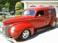 1940 Ford Sedan Delivery. Chevy 350 350 with shift kit,