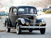 1940 Ford Two Door Sedan Deluxe-Year : 1940-Make :