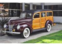 1940 Ford Woody Station Wagon This 3-owner,