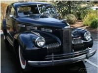 This 1940 GMC LaSalle is a beautiful classic. In it's