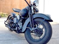 1940 Harley Davidson EL Knucklehead Pre War Clear. Here