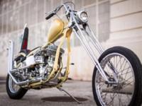 1940 Harley Flathead Flathead Chopper panhead