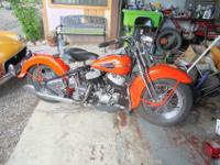 I AM SELLING A 1940 HARLEY DAVIDSON FLATHEAD. IT WAS