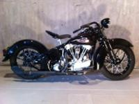 very nice 40 knucklehead with matching belly numbers
