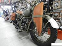 VINTAGE INDIAN CHIEF MILITARY 1940 RESTORED RARE