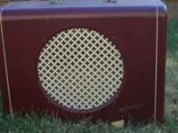 1940 Kalamazoo amp for sale.All caps replaced.Switch
