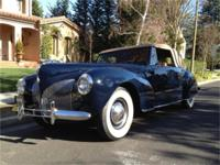 nbsp;This 1940 Lincoln Continental convertible (Stock #