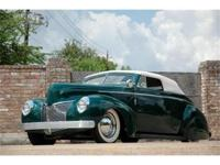 This 1940 Mercury Series 09A Custom 2dr Convertible
