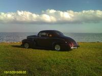 1940 NASH ALL PURPOSE COUPE. EXTREMELY RARE CAR. I'M 77