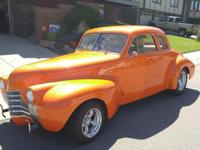 1940 Oldsmobile 2 Door Coupe-All Steel with Custom Weld