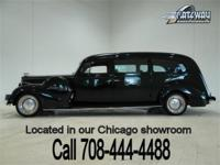 1940 Packard 5 Door Hearse street rod that is simply to