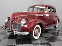This sharp 1940 Pontiac Special Six four door sedan