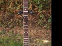 Vtg Kay Plectrum 4 string banjo. Very same size and