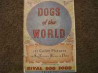 vgc, rival dog food, 114 color pictures---- Location: