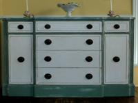 Antique Drexel Buffet from the 40's - Serving