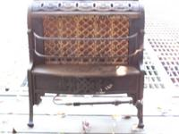 This heater was used by my Great Grandparents to heat