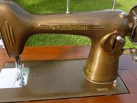 1940's NEW HOME SEW MACHINE Everything works just need