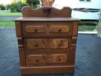 This three drawer chest is from the 1940's and is in